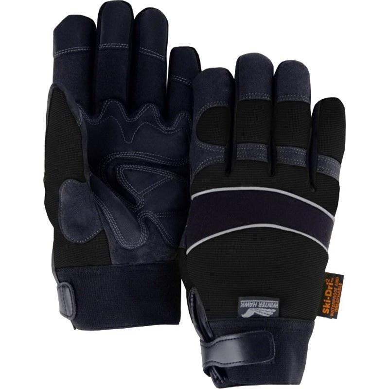Majestic Glove 2145bkh Armorskin Synthetic Leather Mechanics