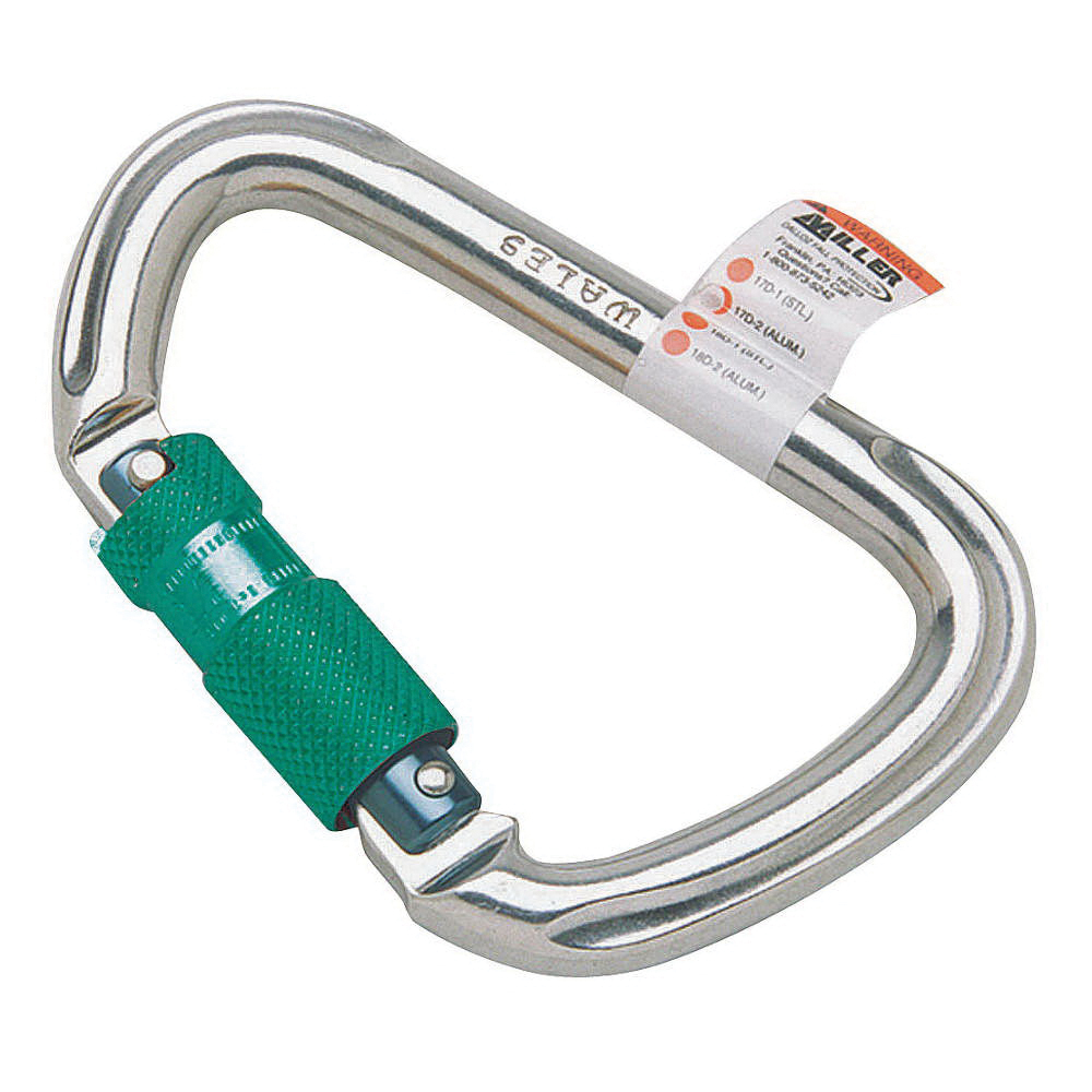 Miller Fall Protection 17D-1 Twist Lock Carabiner