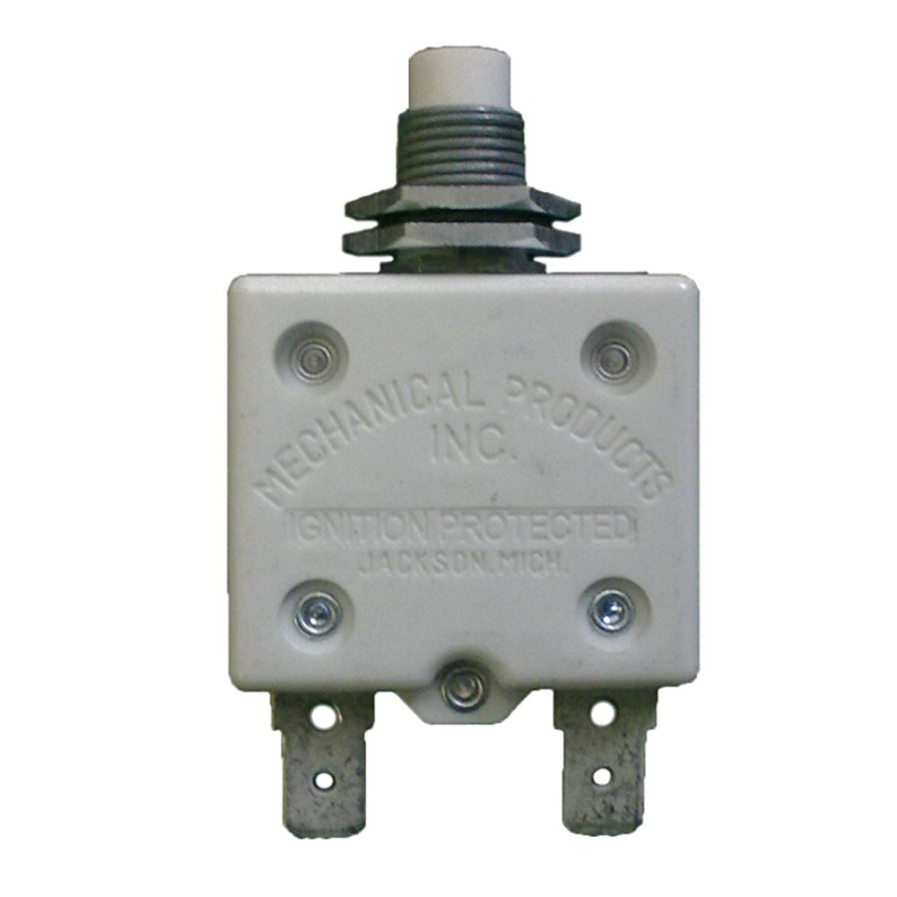 Miller Electric 093996 Manual Reset 1-Pole Circuit Breaker with ...