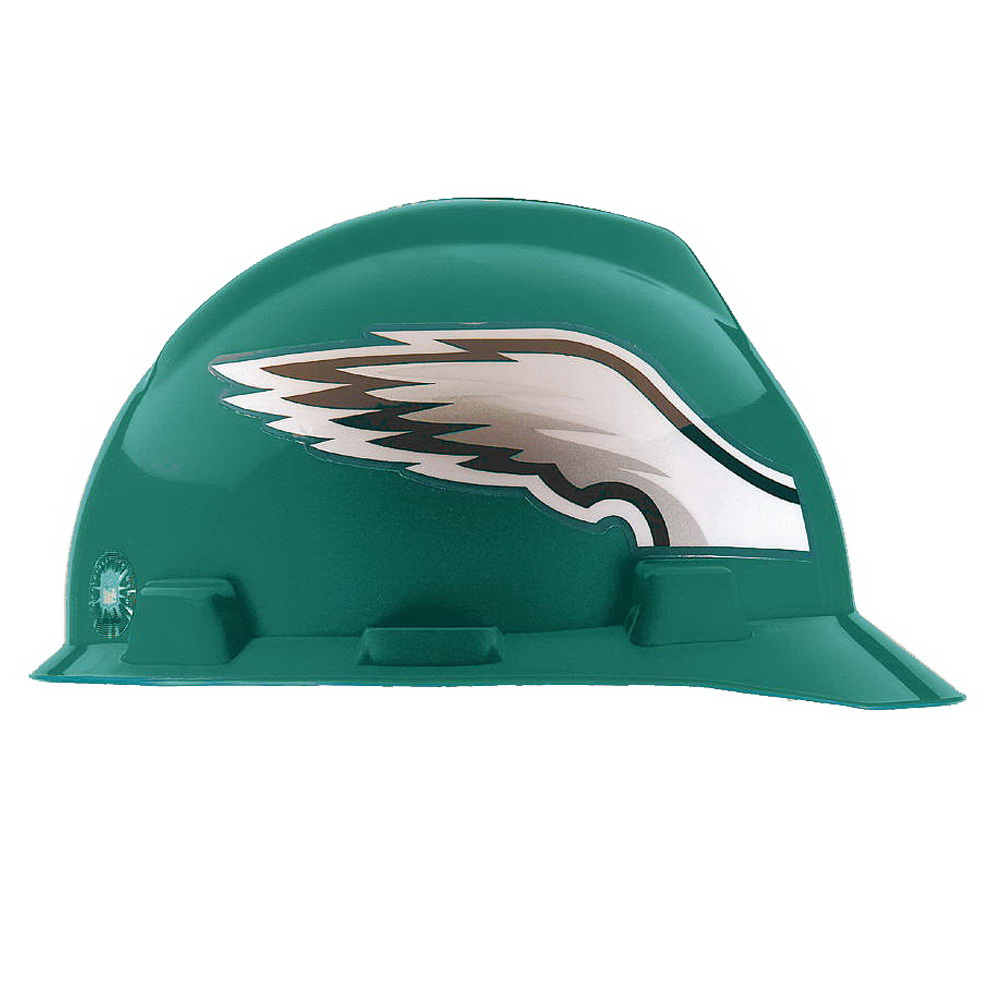 MSA 818406 NFL V-Gard® Slotted Protective Cap  Front Brim Style ... 5fd318910