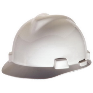 MSA 473284 V-Gard® Slotted Protective Cap  Front Brim Style 5261c49a9