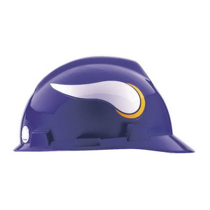 MSA 818400 NFL V-Gard® Slotted Protective Cap  Front Brim Style 20c5e395b