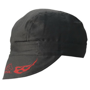 fe10f208ccd Revco Industries BC5W BSX® ArmorCap Welding Cap  Red Flames Logo