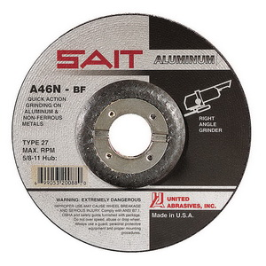 10-Pack United Abrasives//SAIT United Abrasives-SAIT 20936 Type 27 7-Inch by .090-Inch by 5//8-11-Inch Tech High Performance Cutting Wheels